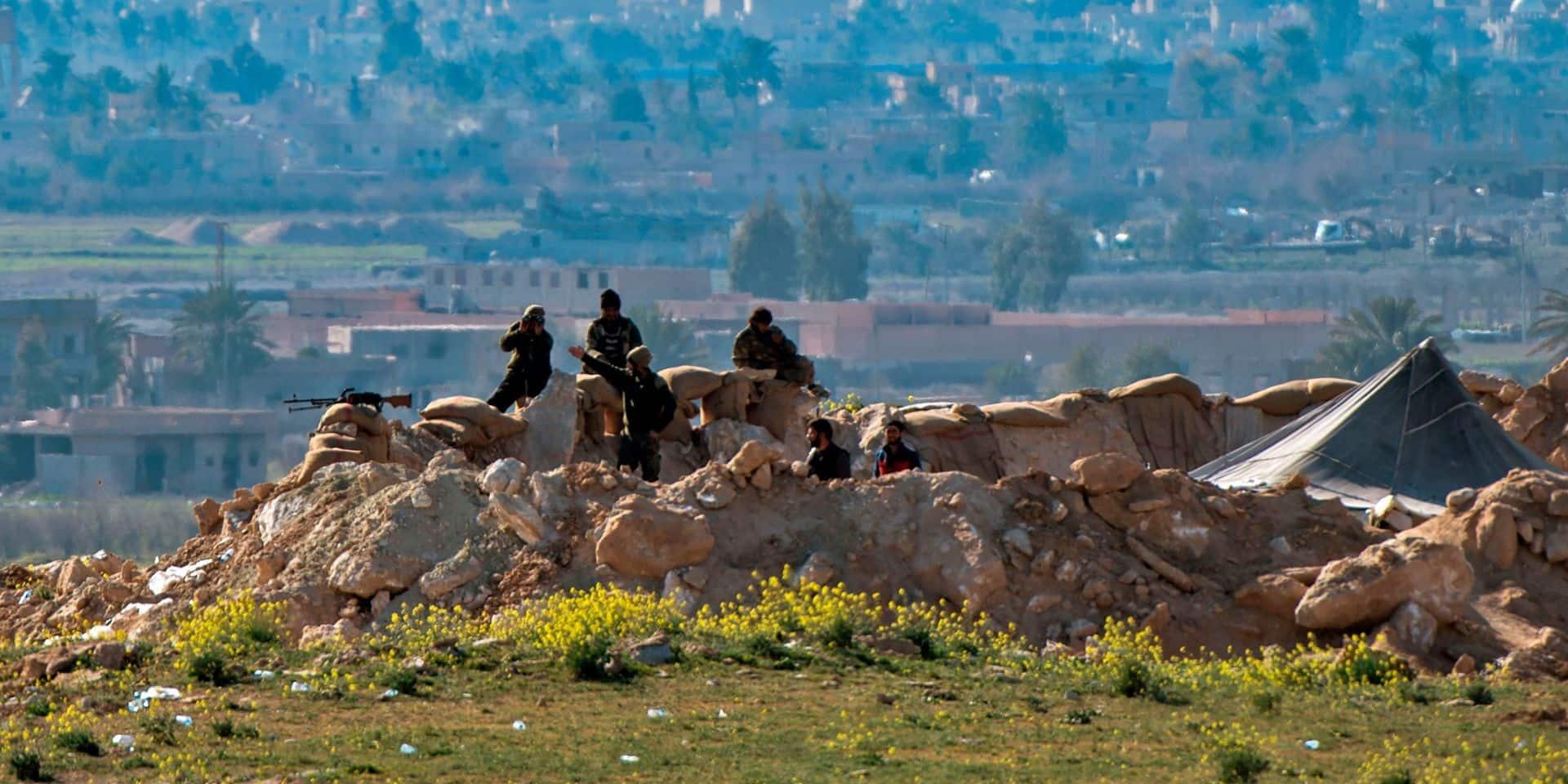 Syrie: deux importants djihadistes de l'EI sont désormais sous le contrôle de l'armée américaine