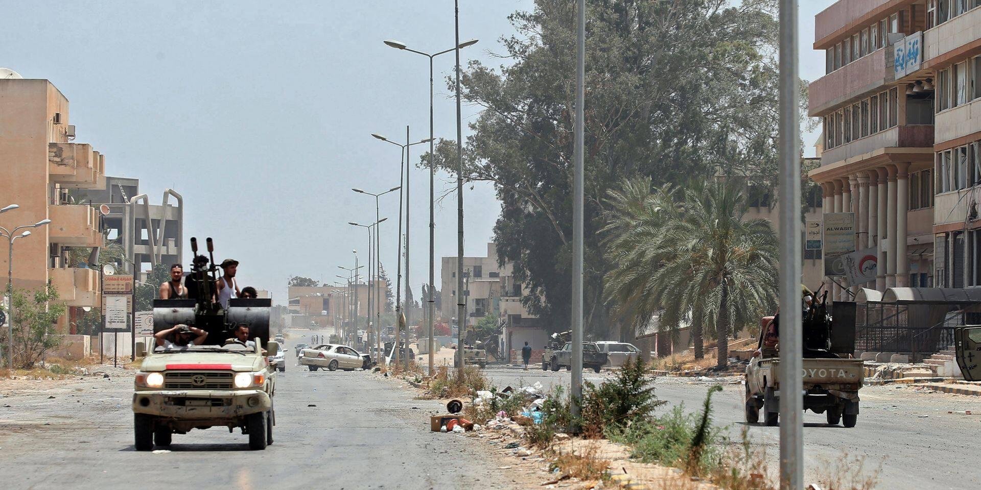 Conflit en Libye: le maréchal Haftar d'accord pour un cessez-le-feu à partir de lundi