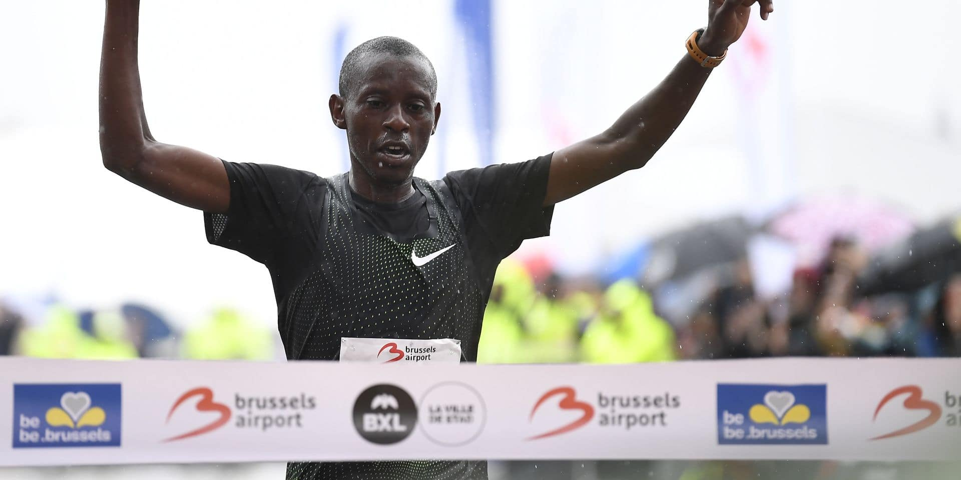 Michael Chege remporte le Marathon de Bruxelles