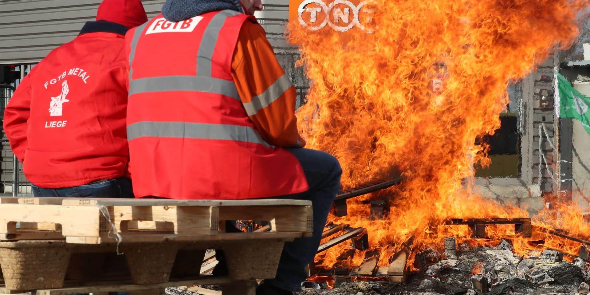 """Licenciements Fedex-TNT: """"C'est un hold-up social manifeste"""""""