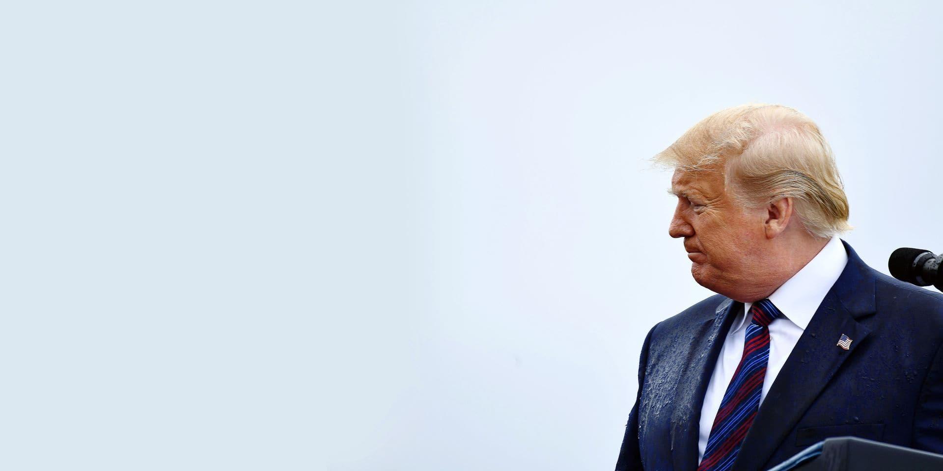 Donald Trump ébranlé par le tourbillon de l'impeachment