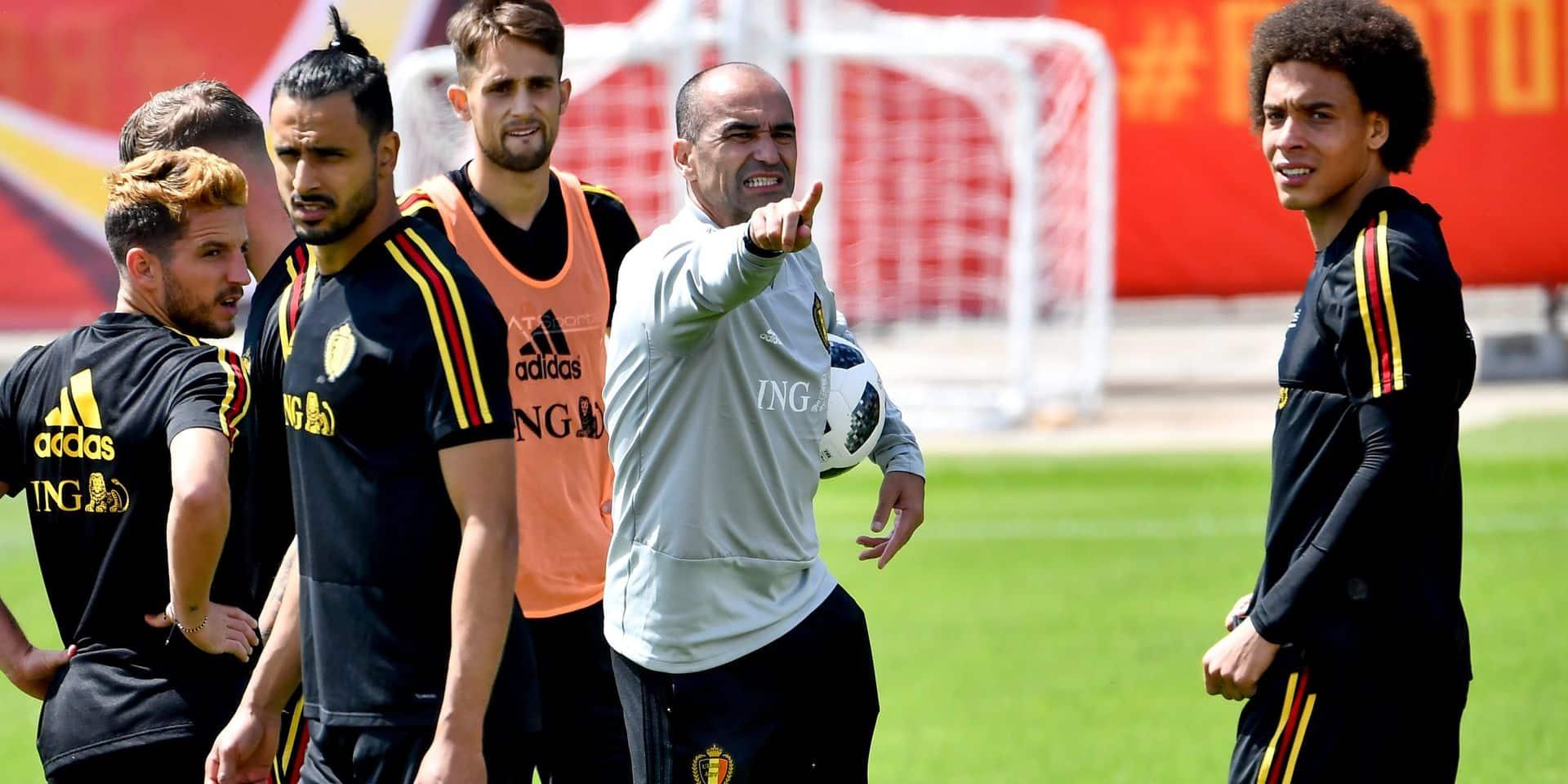 """Martinez: """"Vermaelen et Kompany trop courts pour le match contre la Tunisie"""""""