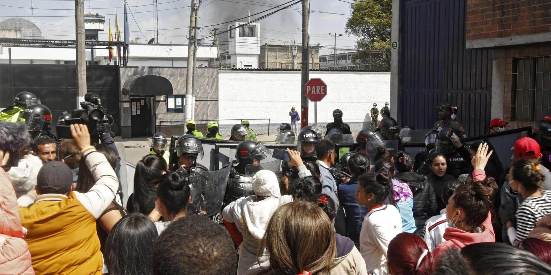 Une mutinuerie contre le confinement pour le Covid-19 fait 23 morts et 90 blessés dans une prison colombienne