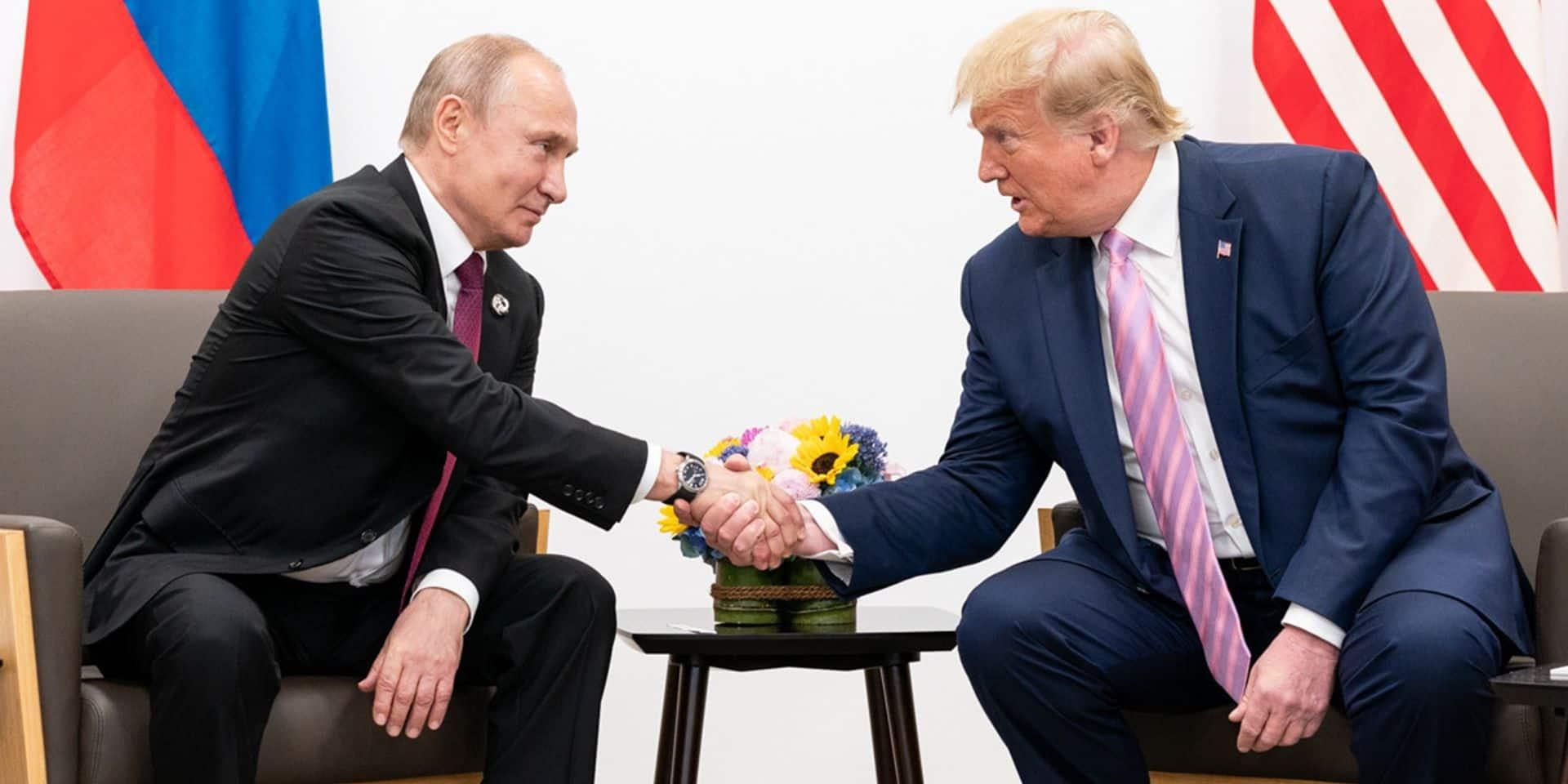 """""""Avec Trump, tous les chemins mènent à Poutine"""": la difficile relation entre le président américain et son homologue russe"""