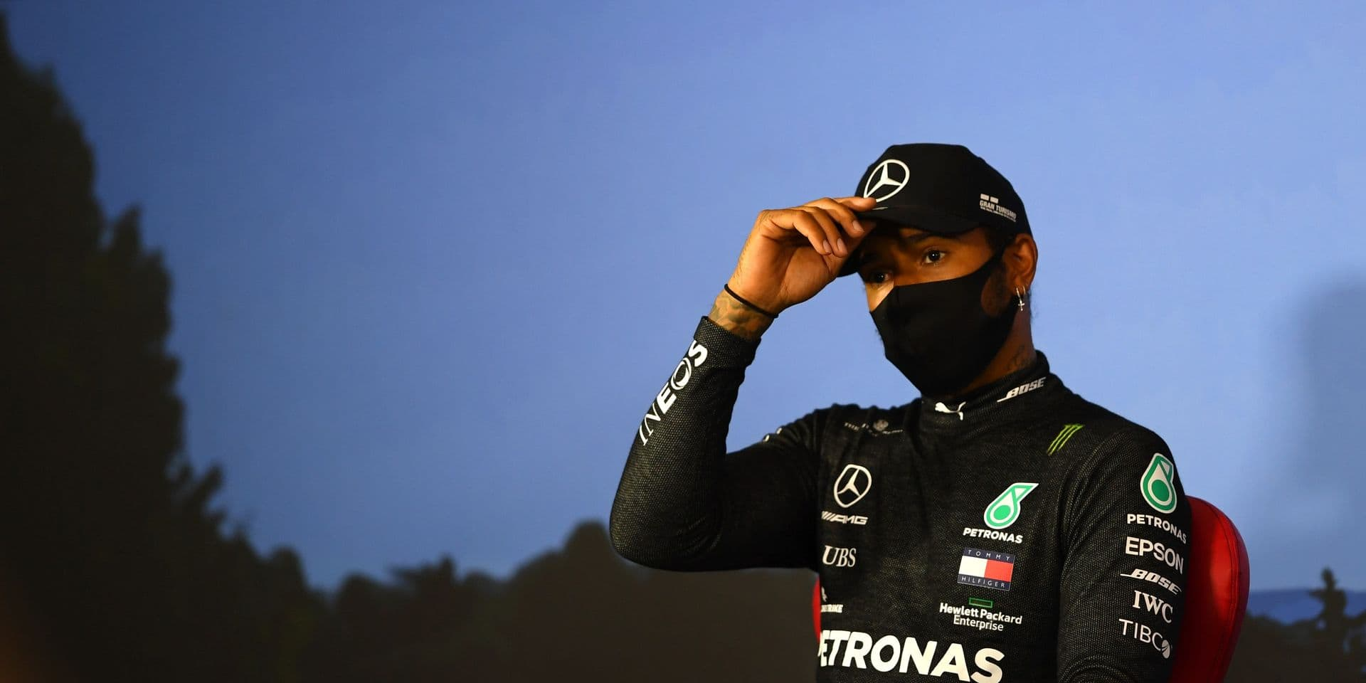 Trois places de pénalité pour Lewis Hamilton