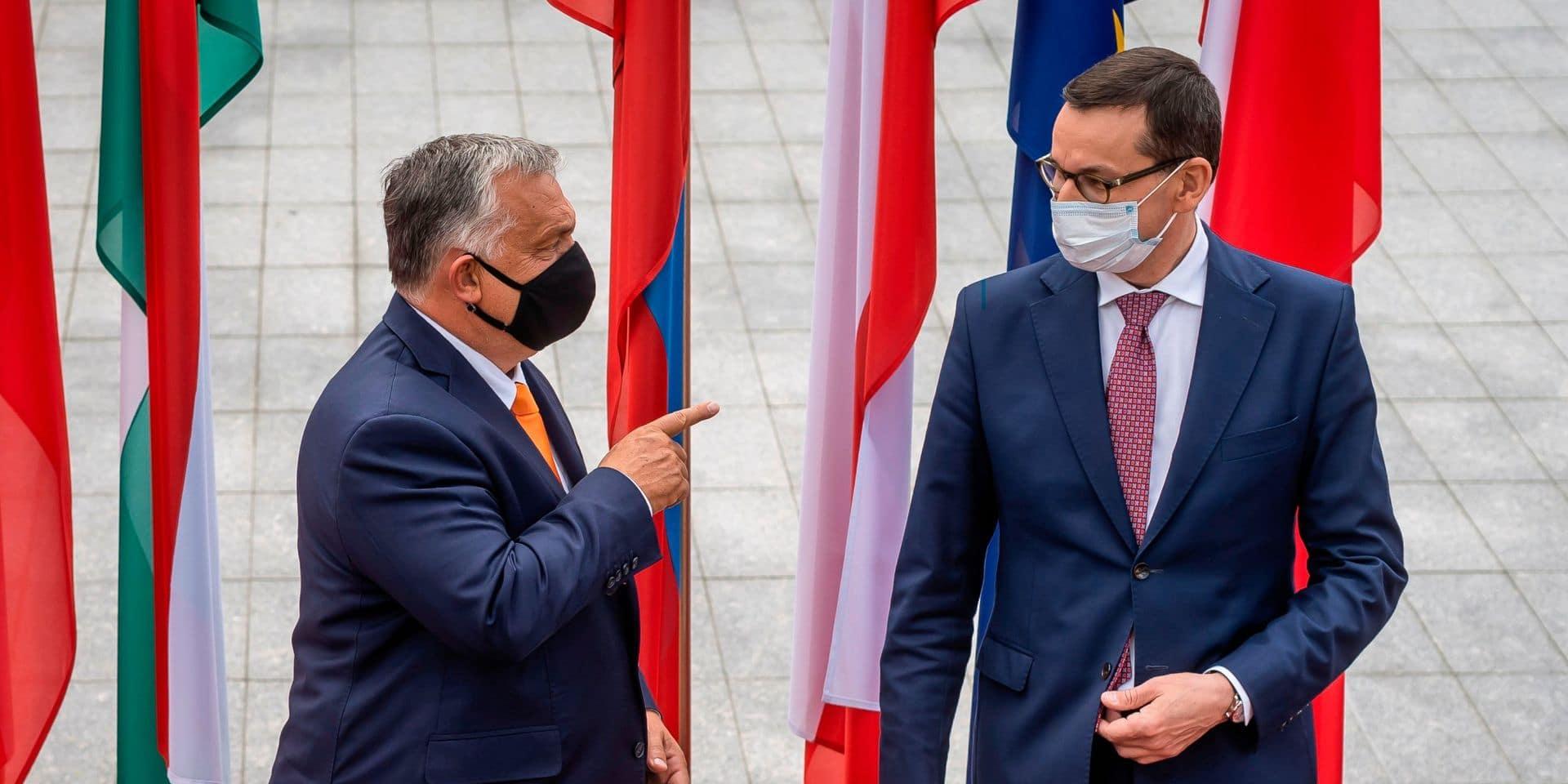 Véto au budget européen: Varsovie et Budapest campent sur leurs positions