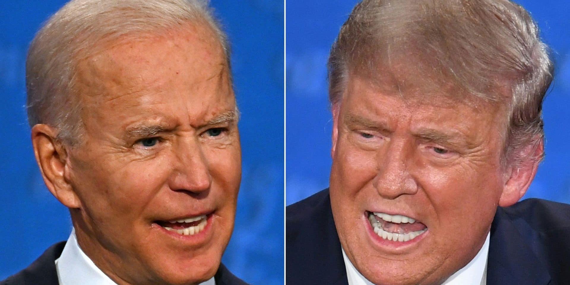 Le prochain débat entre Trump et Biden annulé