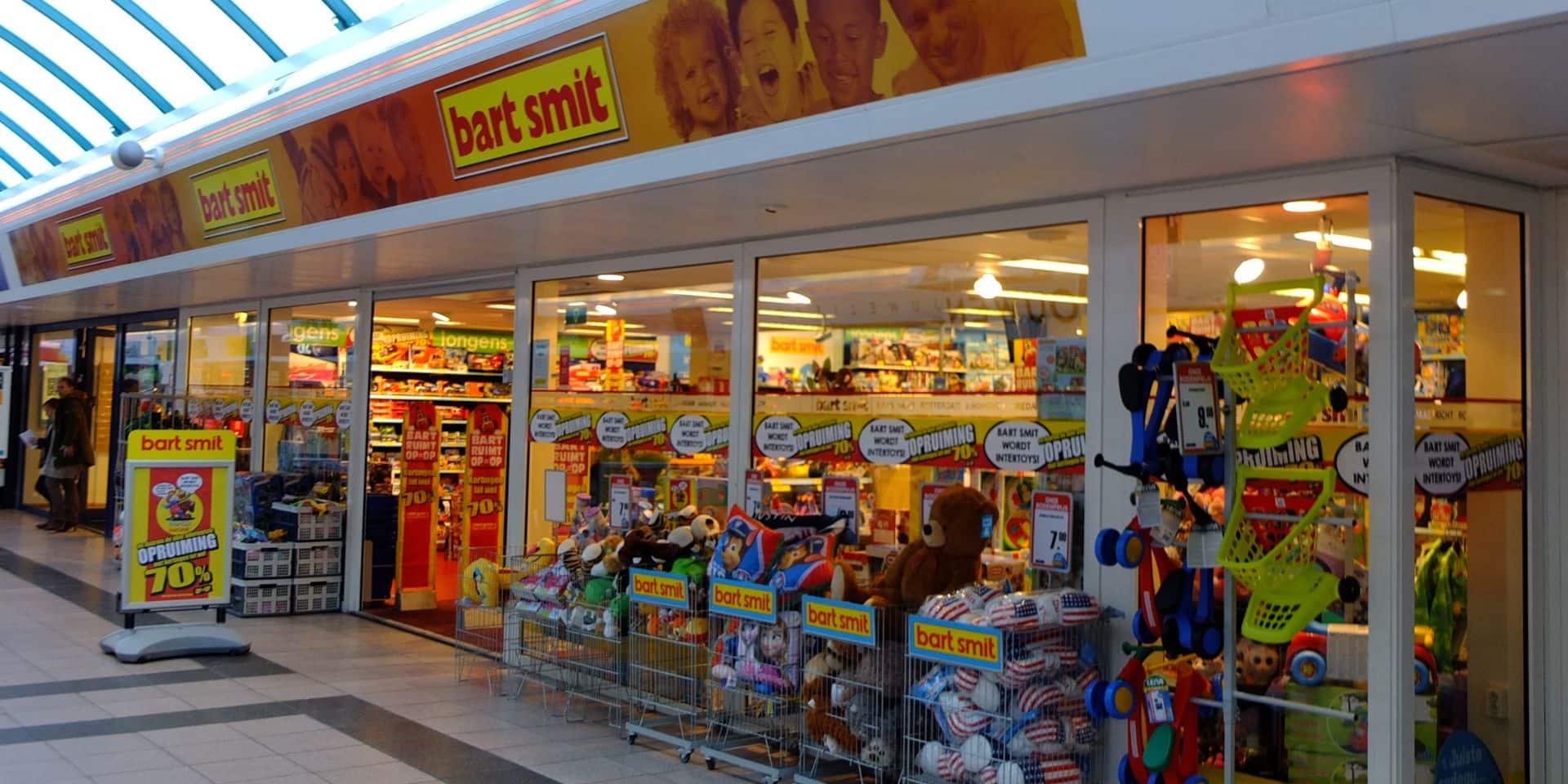 C'est l'aveu de faillite pour les magasins de jouets Bart Smit