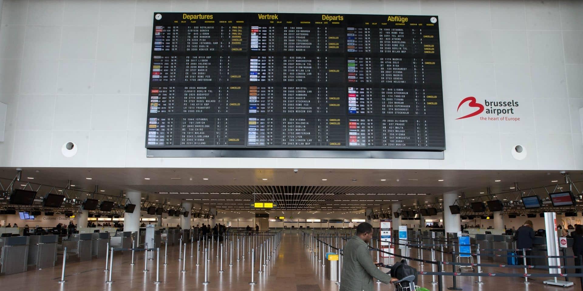 Le centre de tests de Brussels Airport ouvre lundi