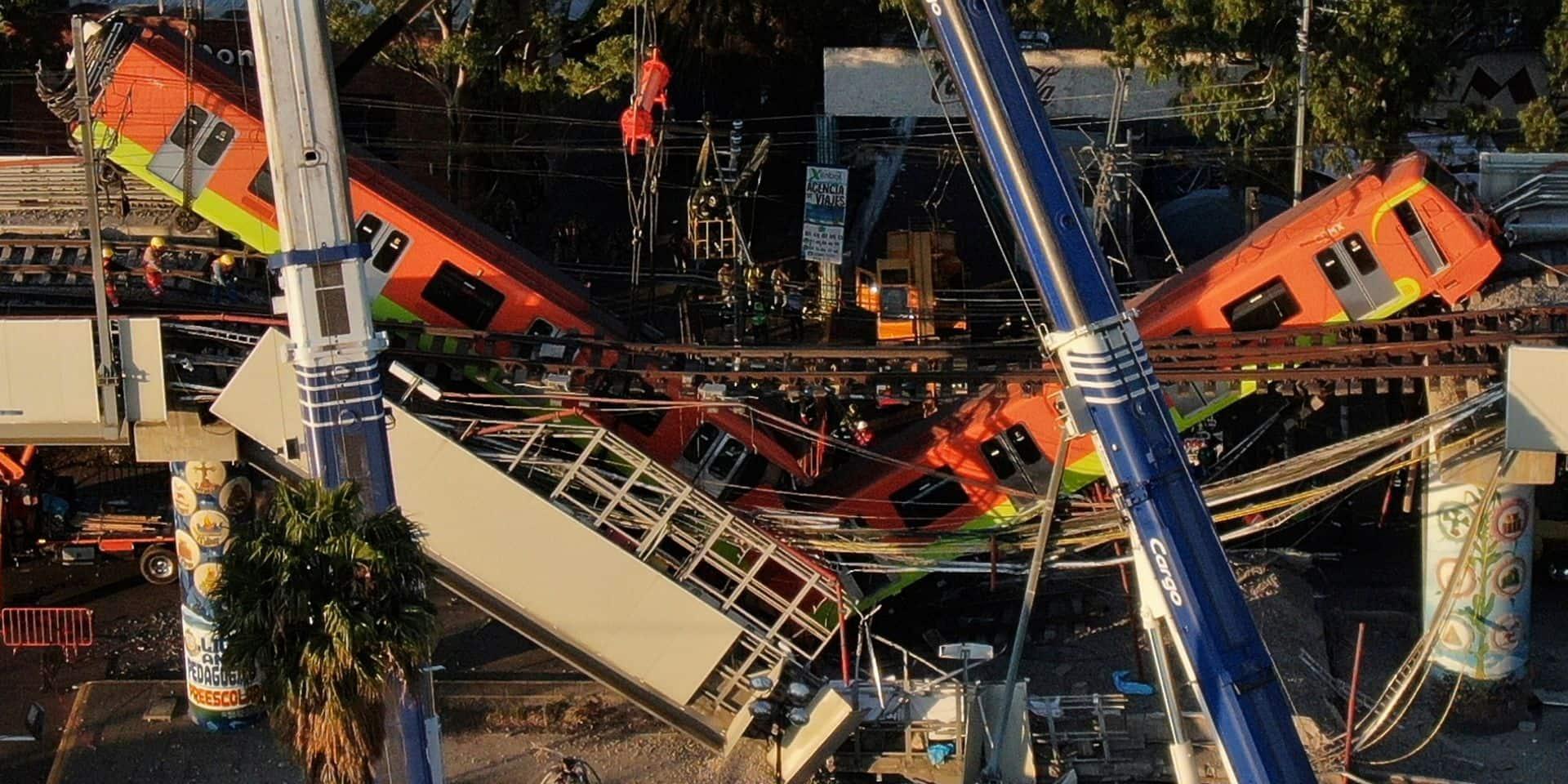 Accident du métro de Mexico qui a fait 25 morts: de premières explications