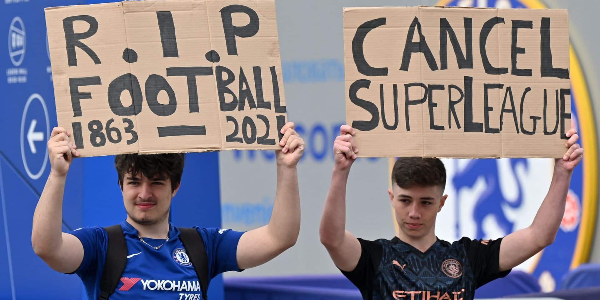La Super League européenne ou la fin du football populaire