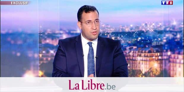 "This video grab taken from footage released by French television channel TF1 shows former top presidential security aide Alexandre Benalla, speaking during an interview on July 27, 2018 at the TF1 headquarters in Boulogne-Billancourt, western suburbs of Paris. Benalla was charged with assault and impersonating a police officer after videos emerged last week showing him hitting a protester and wrestling another to the ground during the May 1 demonstration. / AFP PHOTO / TF1 / - / RESTRICTED TO EDITORIAL USE - MANDATORY CREDIT ""AFP PHOTO / TF1 / - NO MARKETING NO ADVERTISING CAMPAIGNS - DISTRIBUTED AS A SERVICE TO CLIENTS ---"
