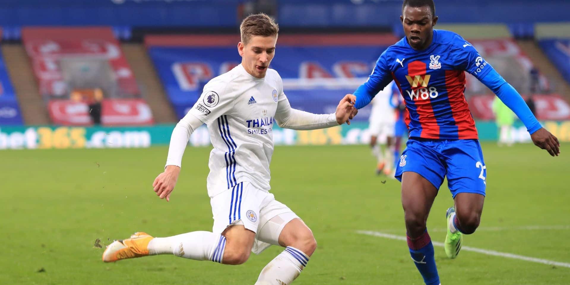 Les Belges à l'étranger: Partage entre le Crystal Palace de Benteke et le Leicester de Praet-Tielemans