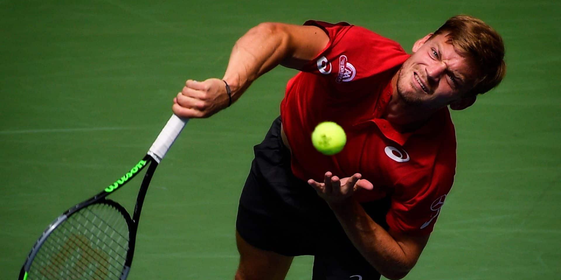 Goffin s'incline face à Djokovic en demi à Tokyo