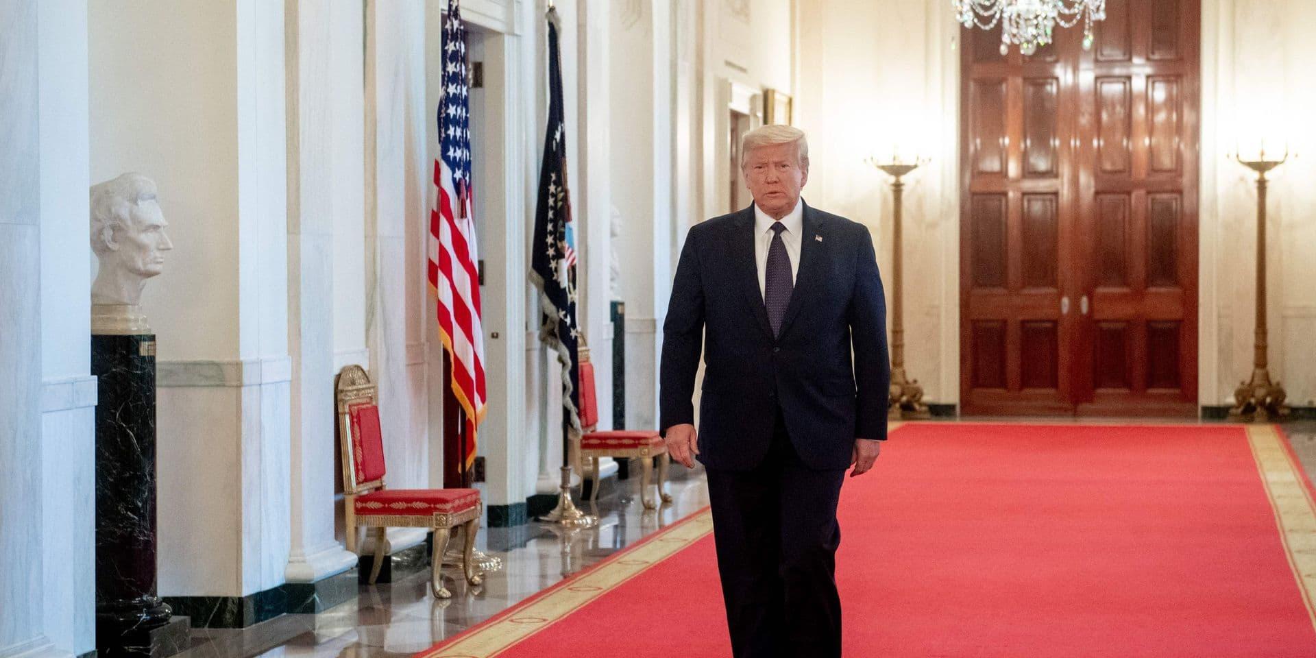 """Trump promulgue une loi pour sanctionner des responsables chinois accusés de """"l'internement de masse"""" des ouïghours"""