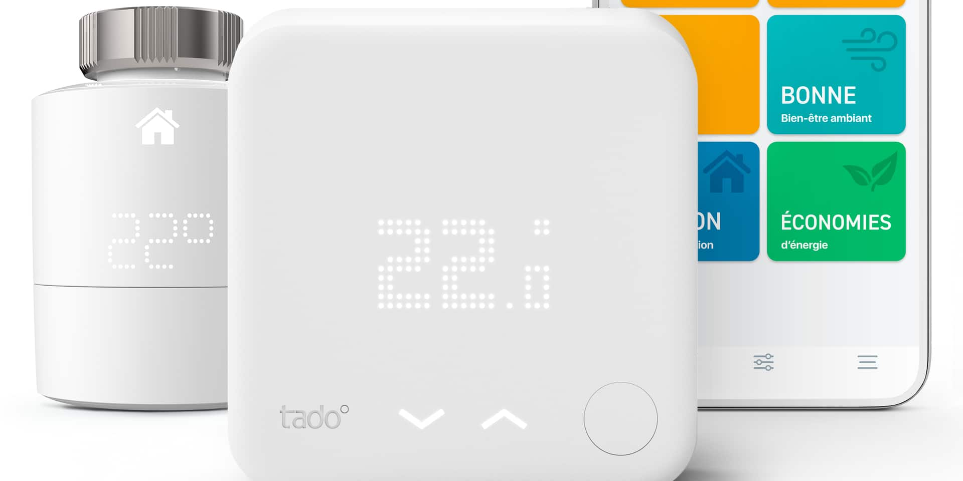 4 Kits Thermostat Intelligent tado à gagner !