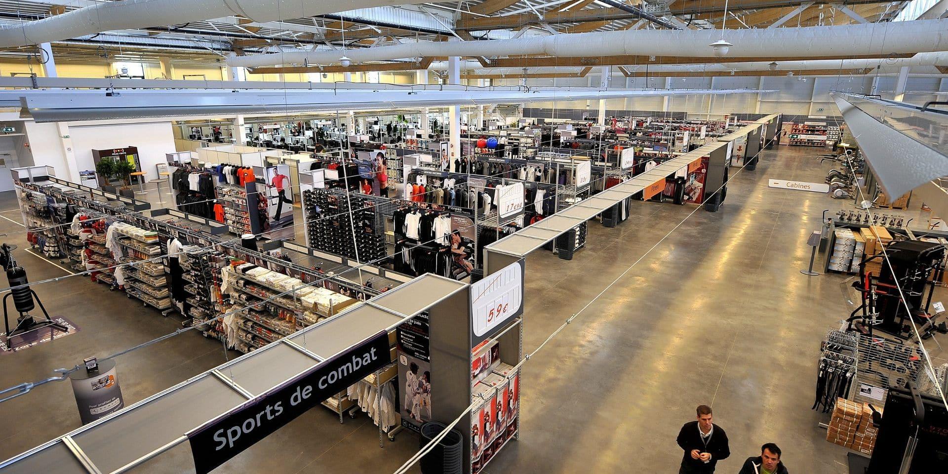 Les magasins Sport Direct à l'arrêt en Wallonie et à Bruxelles