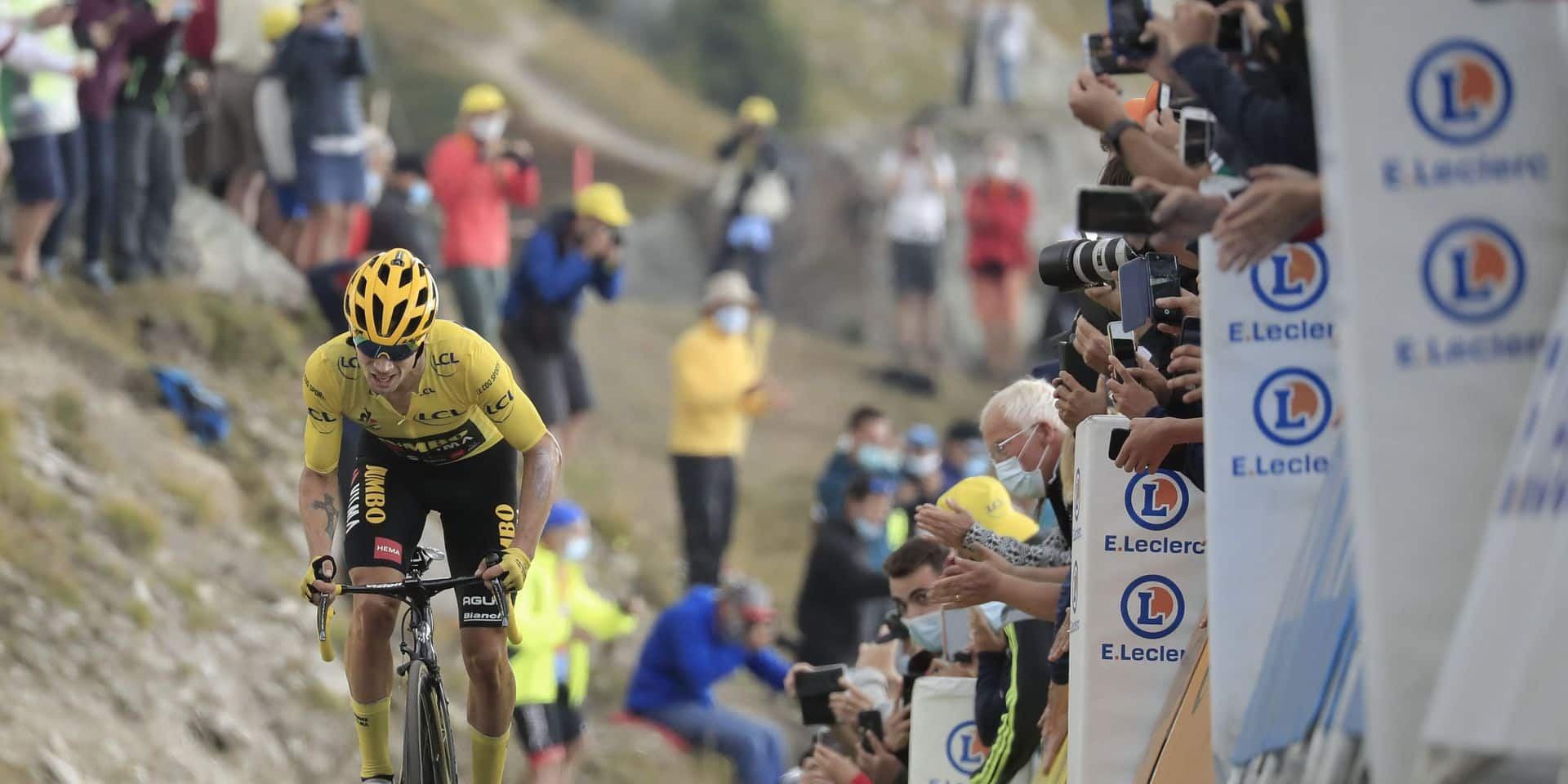 """Roglic accentue son avance mais refuse de crier victoire: """"Le Tour n'est pas joué"""""""
