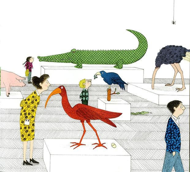 D'Odile au crocodile - La Libre