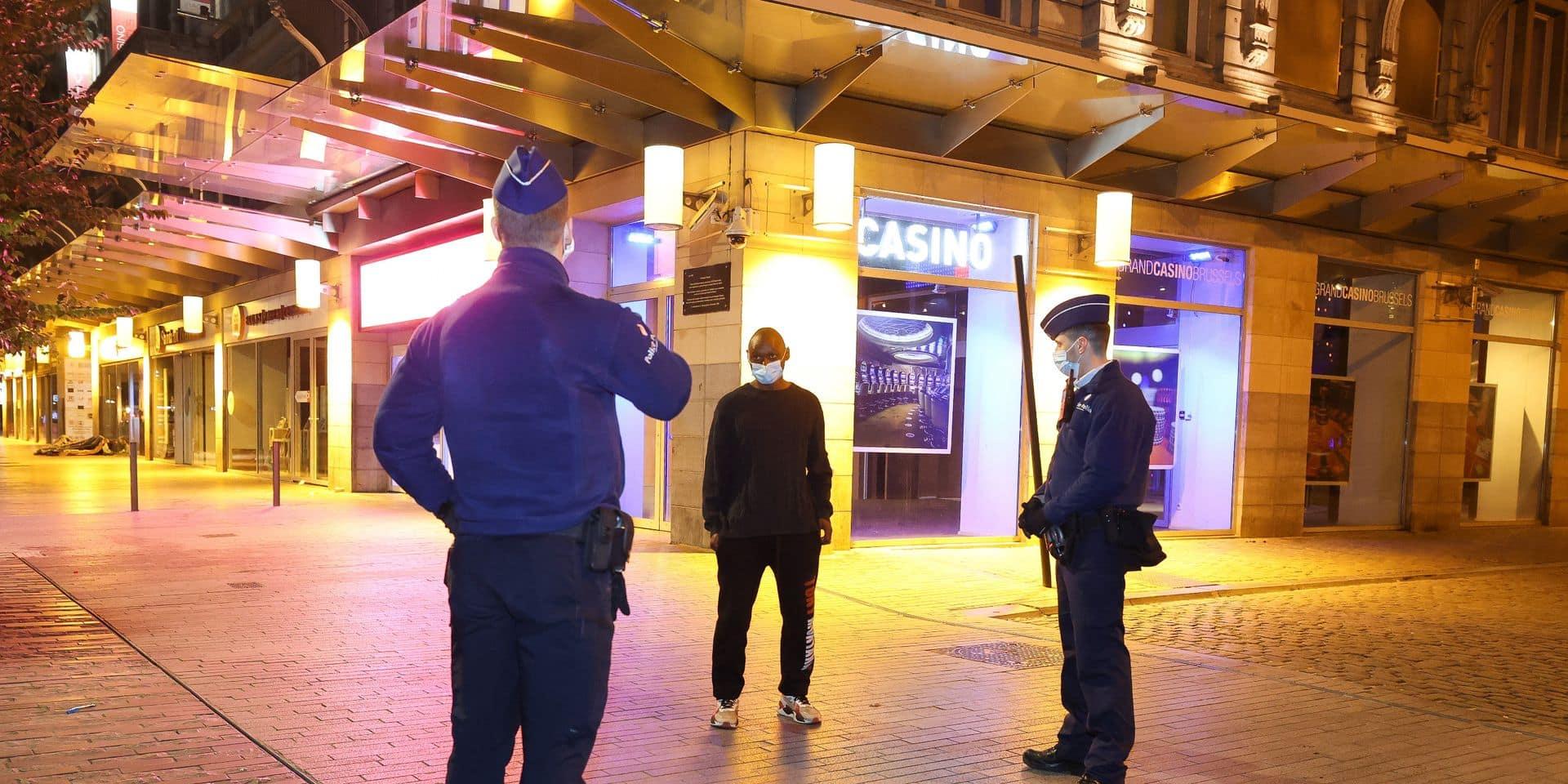 Plus de 13.000 sanctions Covid ont été distribuées sur le territoire de Bruxelles-Ville