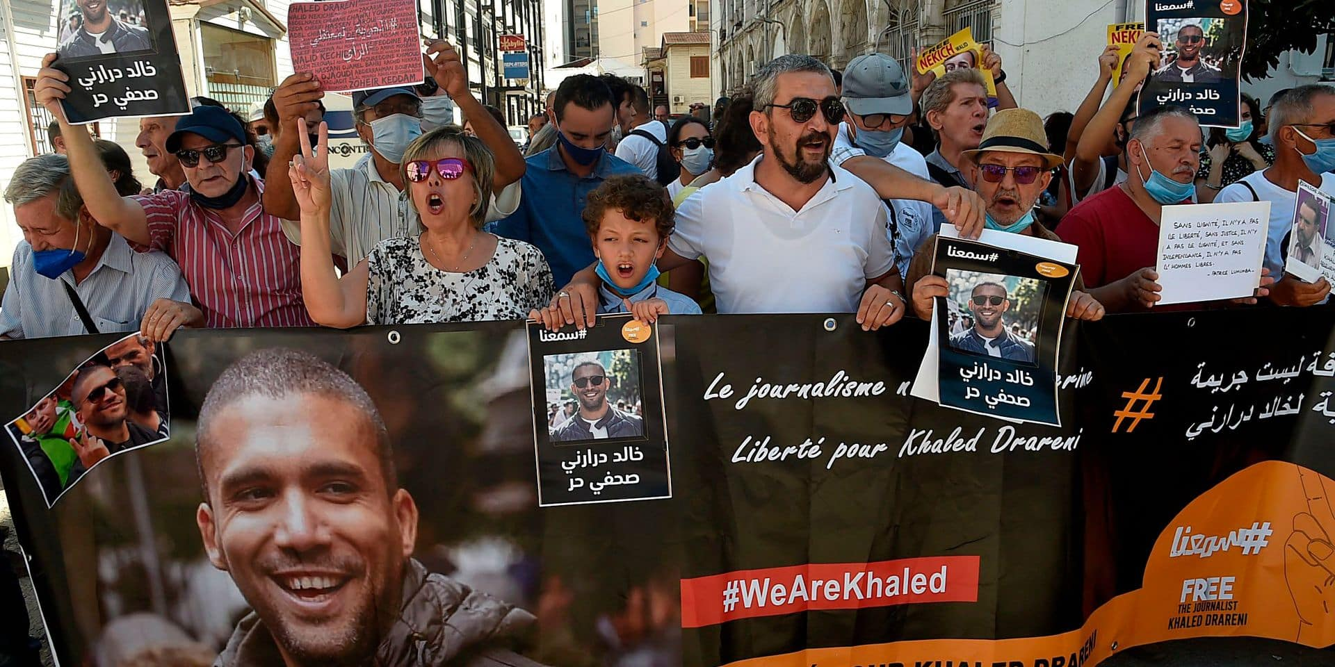 Algérie: le journaliste Khaled Drareni libéré de prison
