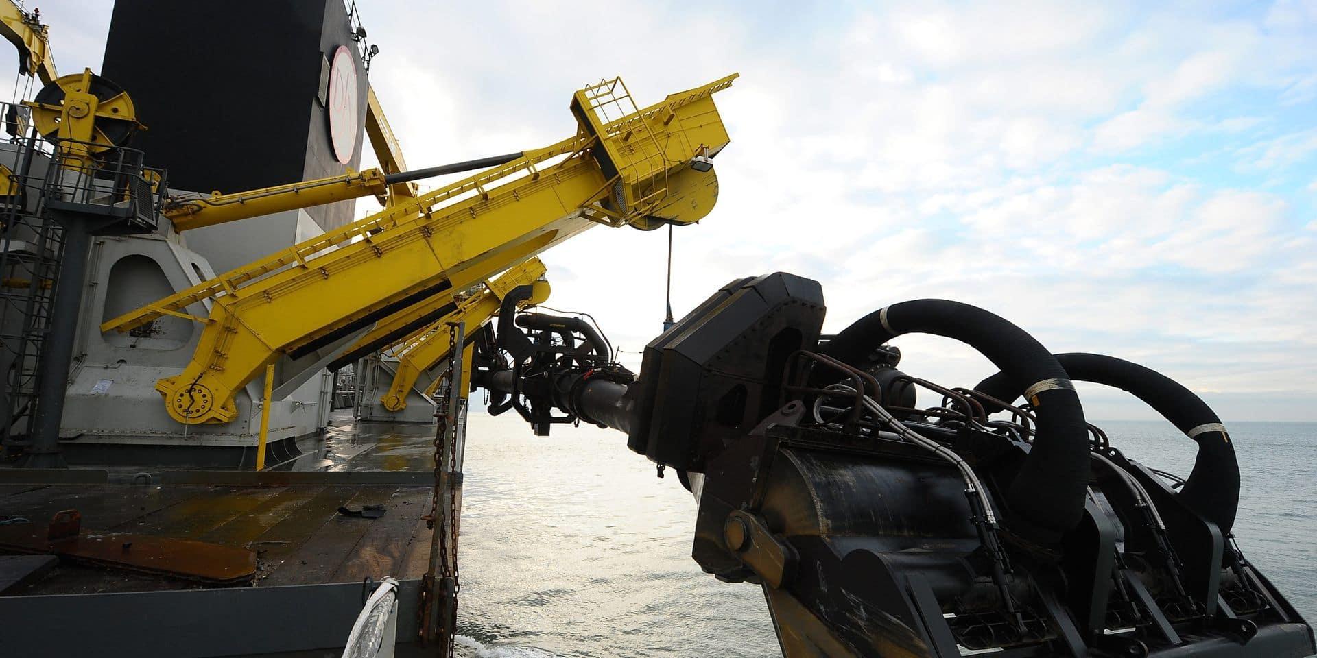 Le Belge Jan De Nul veut une nouvelle trancheuse pour enterrer des câbles sous l'eau