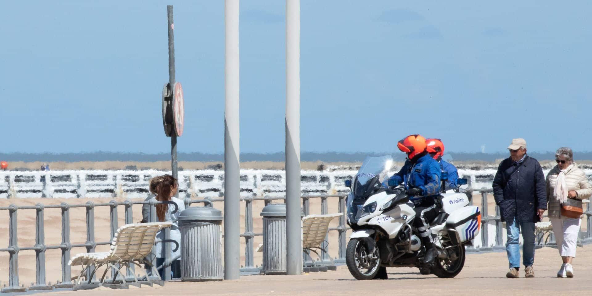 Pour pouvoir profiter de la plage à Ostende, il faudra réserver