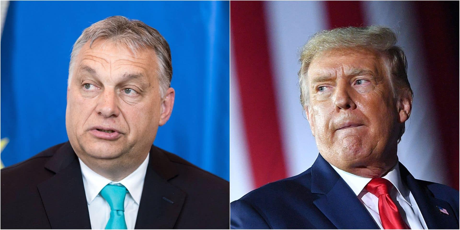 """Le Premier ministre hongrois Viktor Orban souhaite la réélection de Donald Trump: """"Ce qu'il représente est bon pour l'Europe centrale"""""""