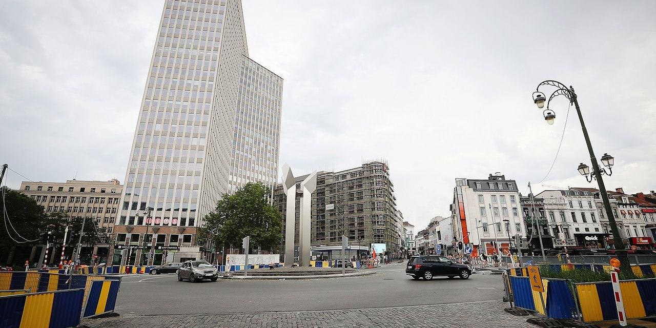 Photos Bernard Demoulin : porte de namur ch d'ixelles Bruxelles