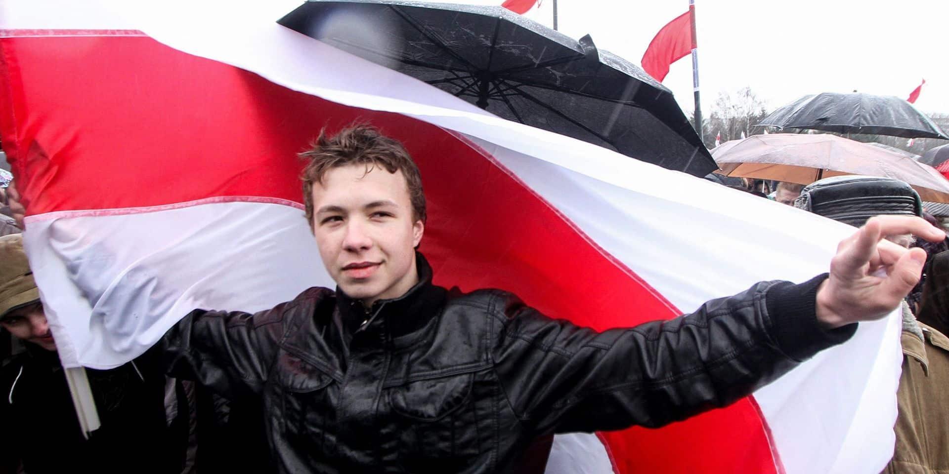 Qui est Roman Protassevitch, l'opposant qui a été arrêté dans l'avion détourné de Ryanair?
