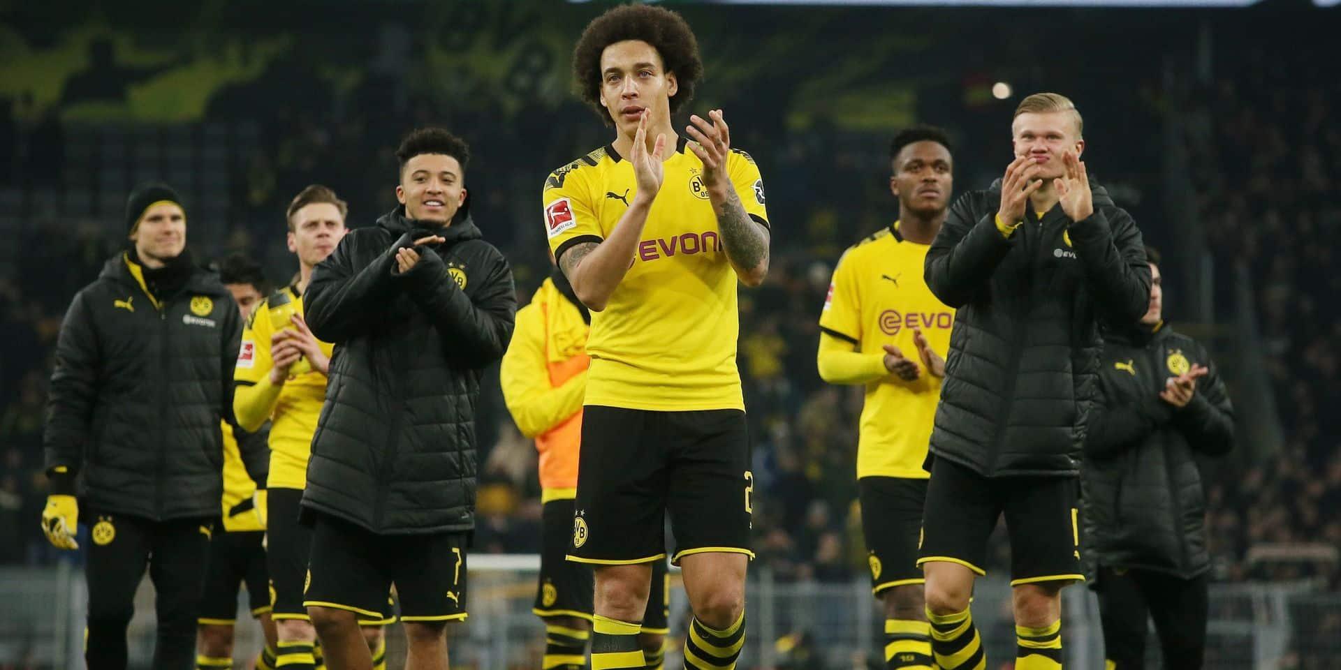 Dortmund, avec un assist de Witsel, a surclassé Francfort (4-0)