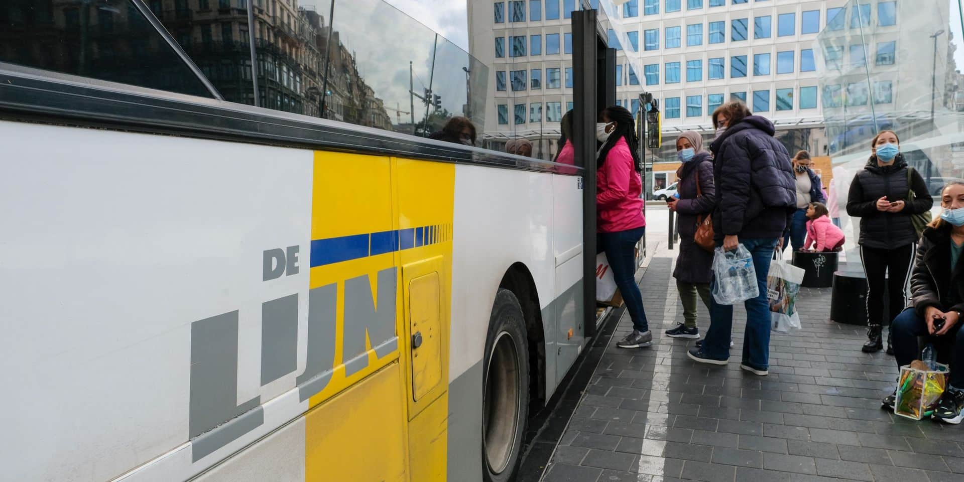 Les bus De Lijn sont mal adaptés aux personnes malvoyantes