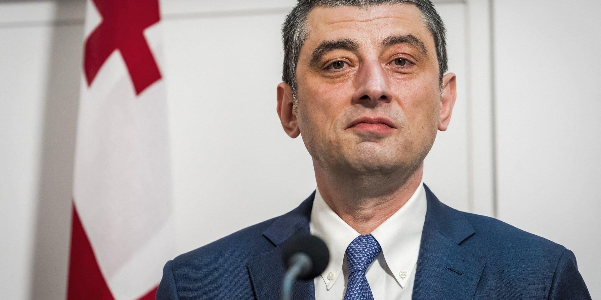Le Premier ministre géorgien démissionne après l'ordre d'arrêter un opposant