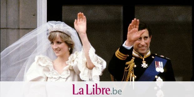 Charles and Diana.