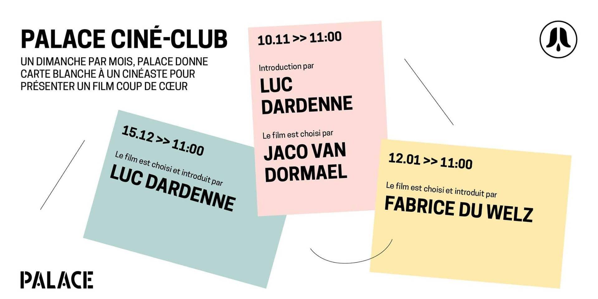 Remportez vos places pour le Palace Ciné-Club