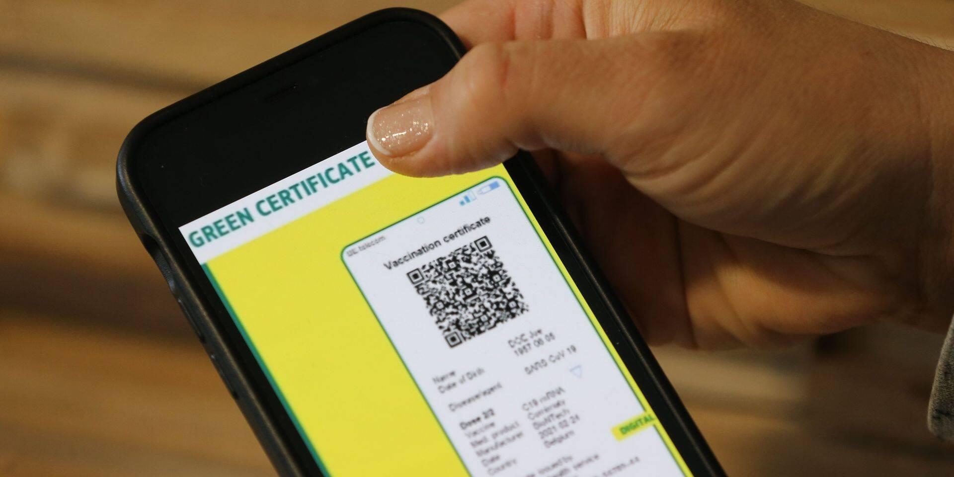 Un premier accord sur le certificat vert européen