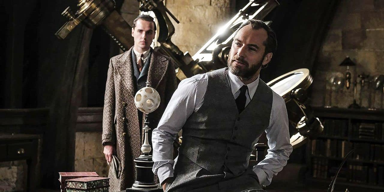 Les secrets d'Albus Dumbledore portés à l'écran avec Jude Law