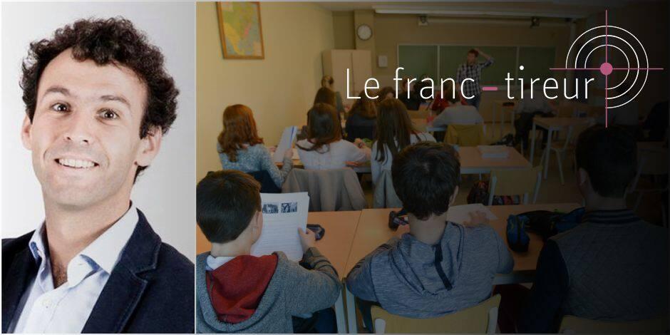 """""""L'enseignement chronologique de l'histoire est indispensable"""" (FRANC-TIREUR) - La Libre"""