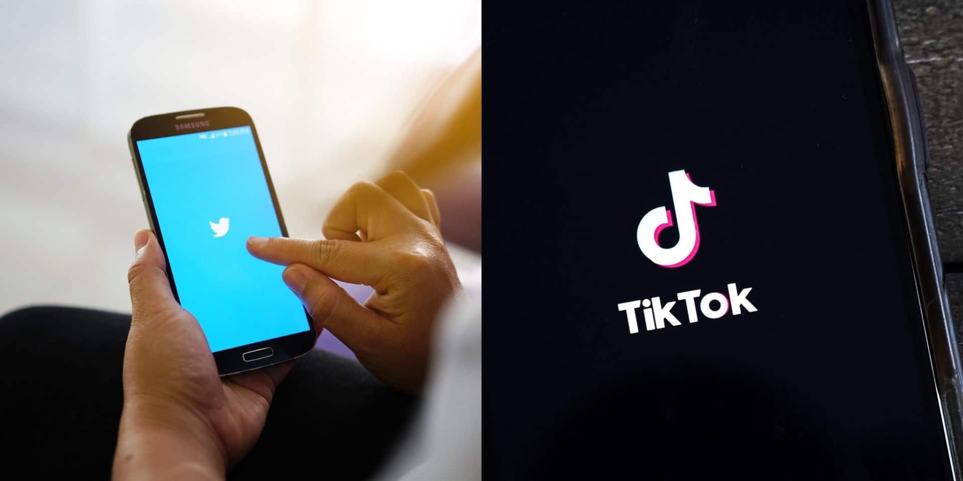 Discussions entre Twitter et TikTok sur un possible regroupement, d'après le Wall Street Journal