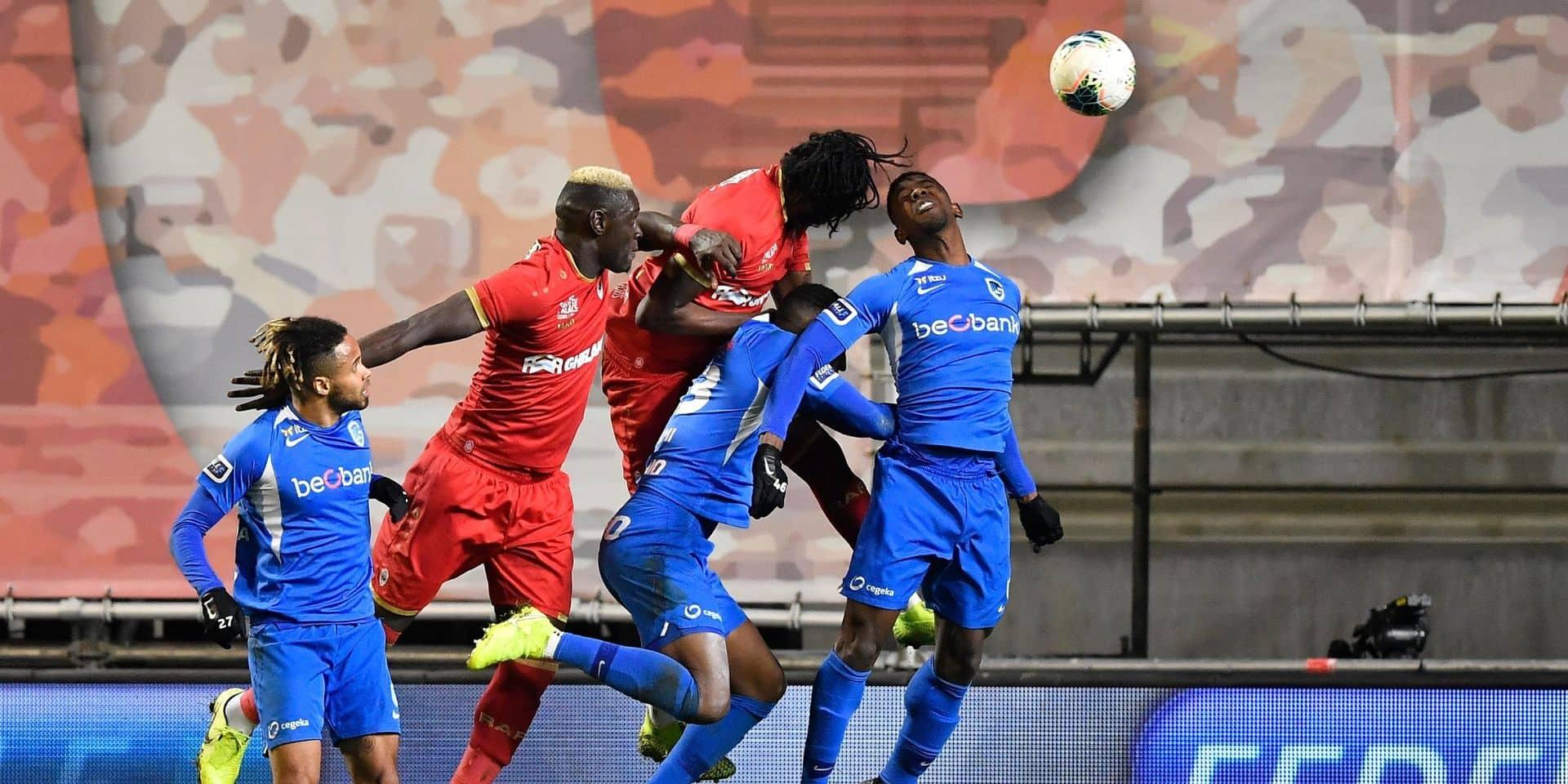 L'Antwerp et Genk se neutralisent et confortent leur place dans le top 6