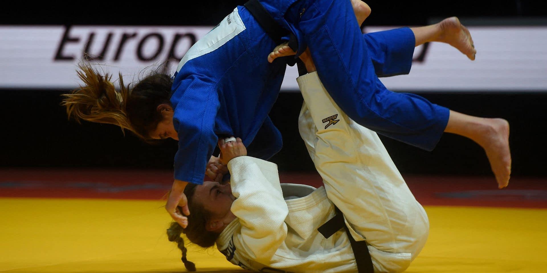 Judo : Charline Van Snick encore sortie par l'arbitre !