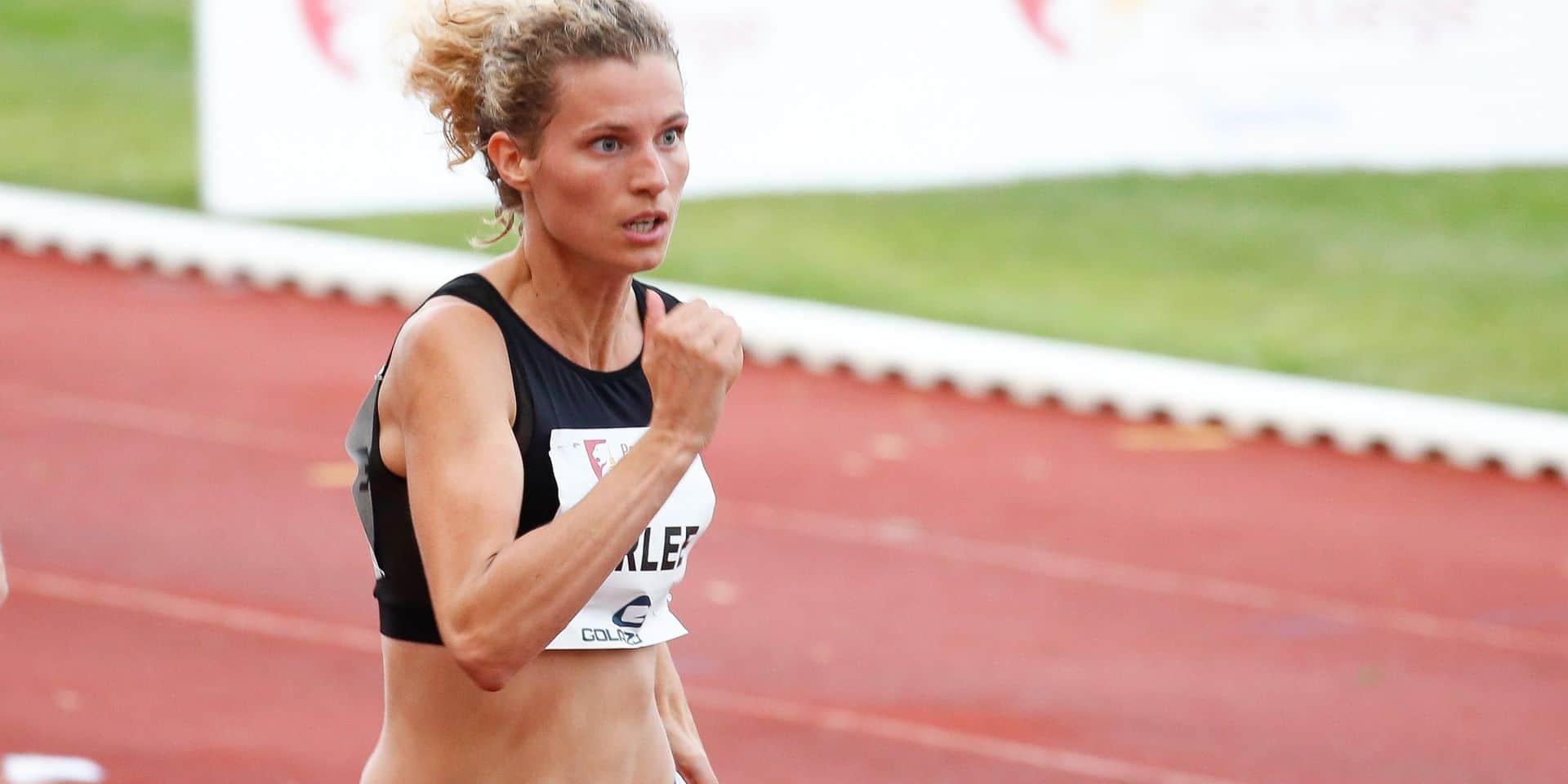 Olivia Borlée quitte l'athlétisme!
