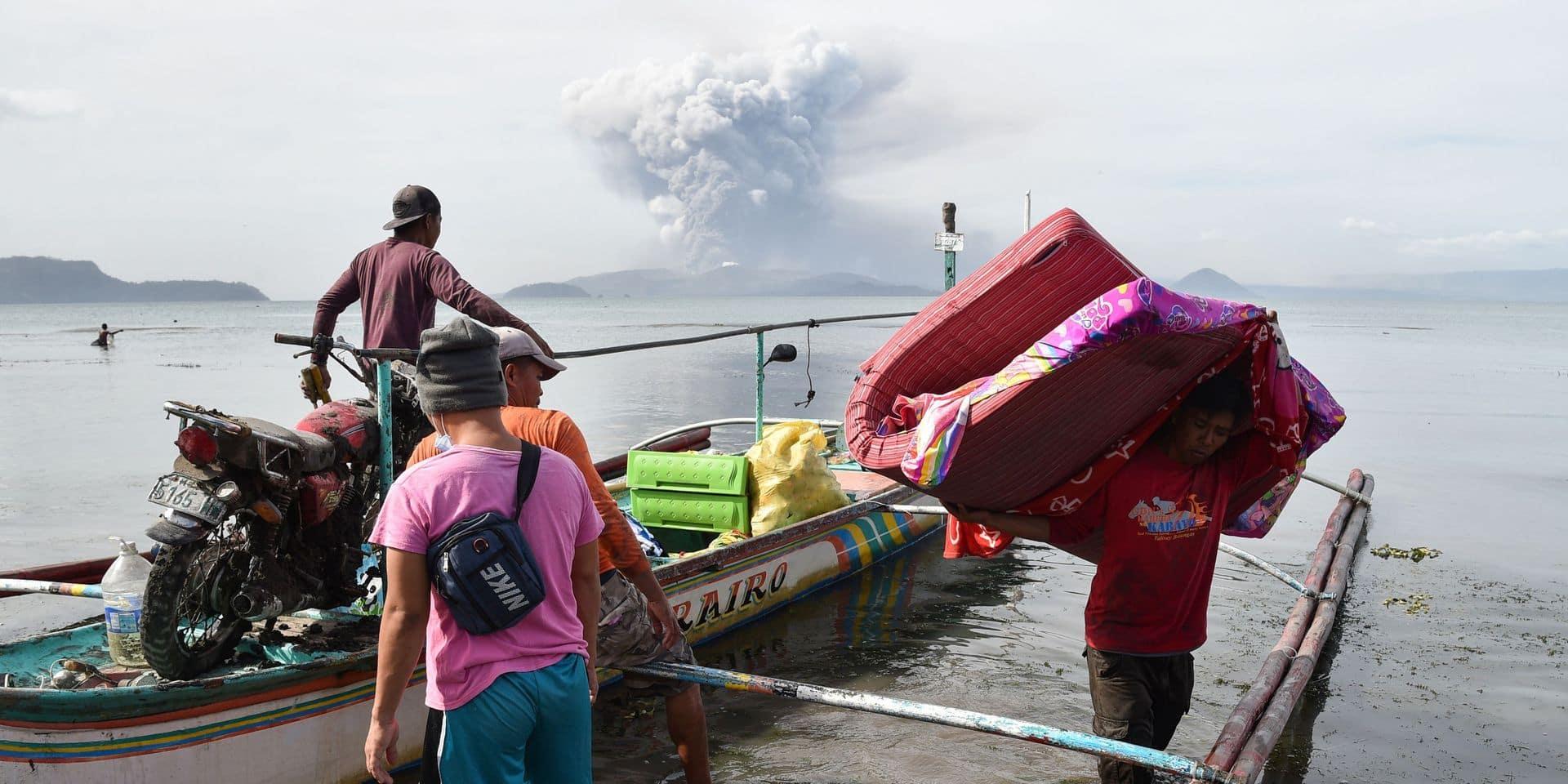 Eruption du volcan Taal aux Philippines: des scientifiques belges ont aidé à sauver des vies