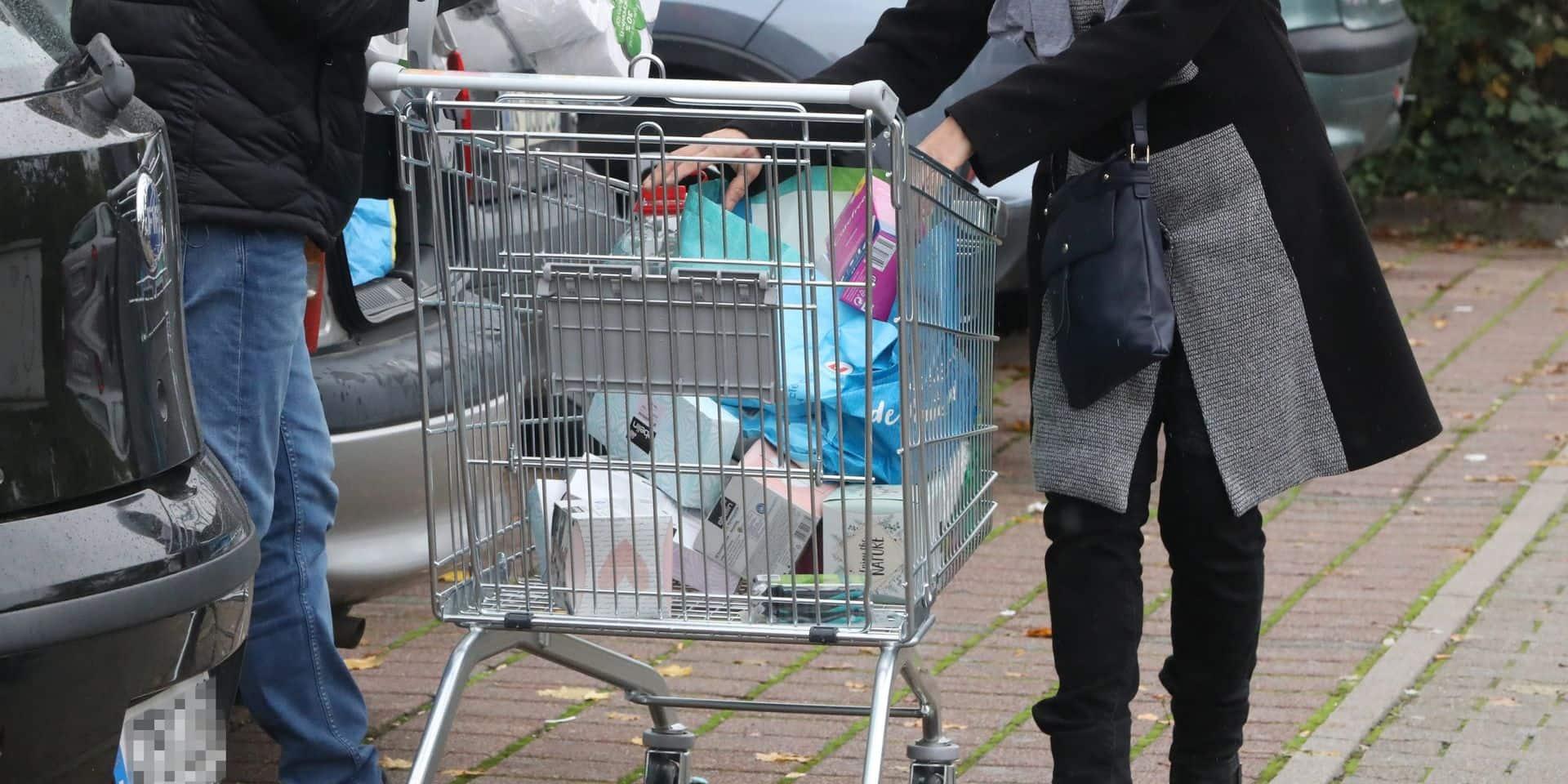 Le nombre d'achats frontaliers des Belges a diminué de près de 30 %