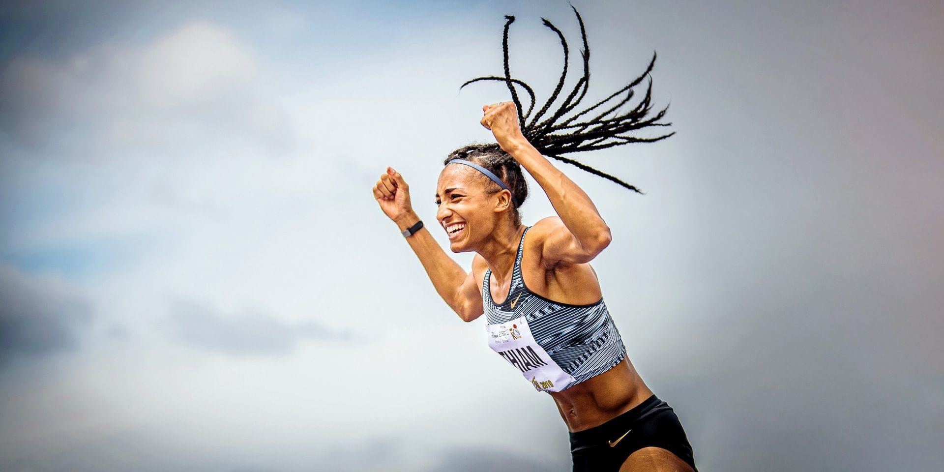 Nafi Thiam, une athlète polyvalente par excellence