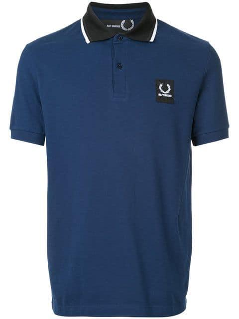 Raf Simons x Fred Perry, Contrast Collar Polo Shirt,       123 euros.