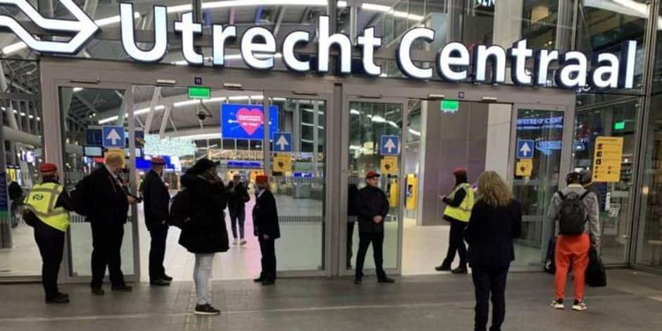 Pays-Bas: la gare d'Utrecht Centraal rouverte au public après une opération de police