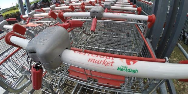40 magasins du groupe Mestdagh fermés ce mardi, la grève devrait se poursuivre mercredi - La Libre