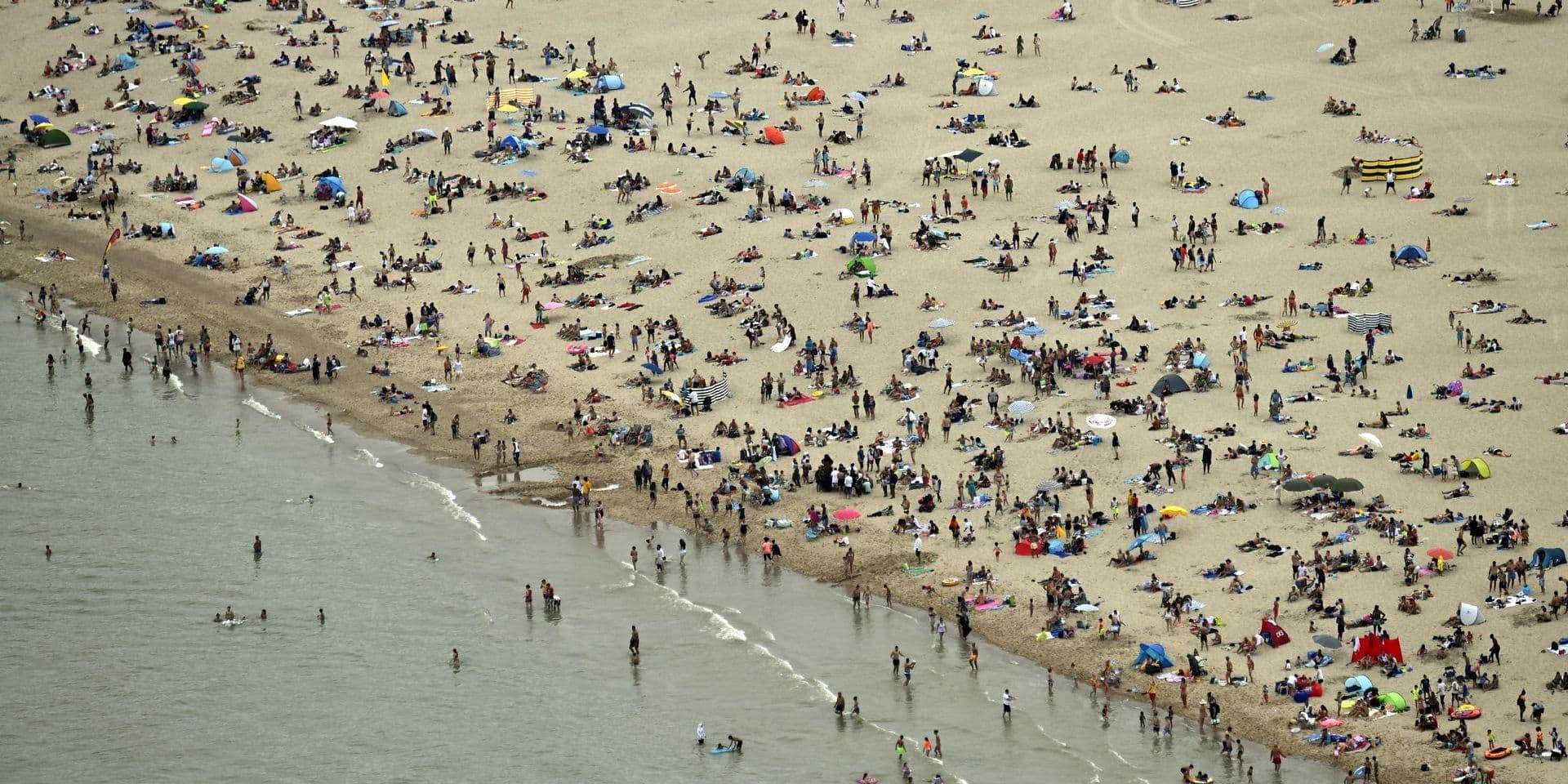 Vague de chaleur: journée très chargée à la Côte