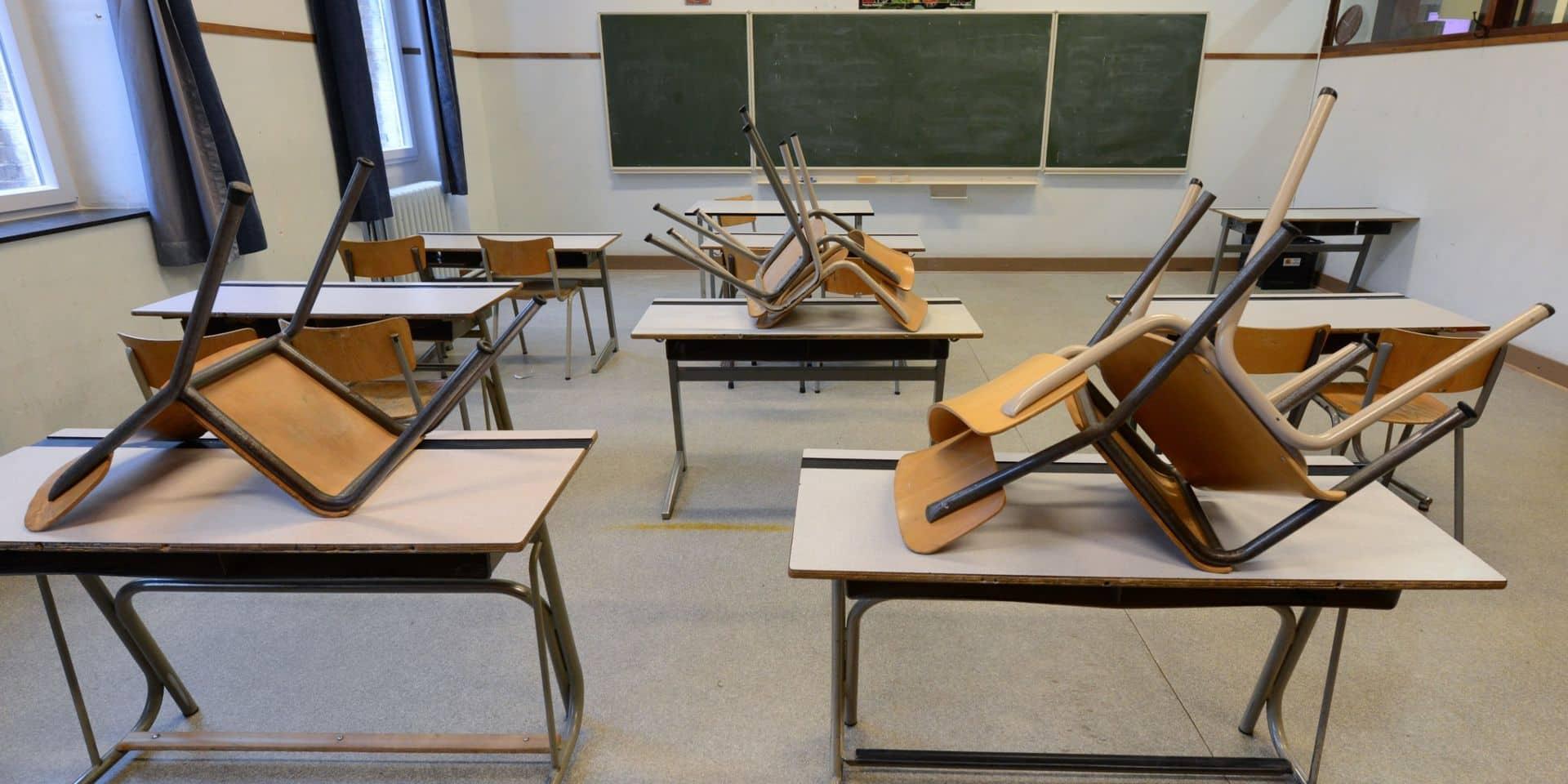 Des professeurs de français en Flandre tirent la sonnette d'alarme